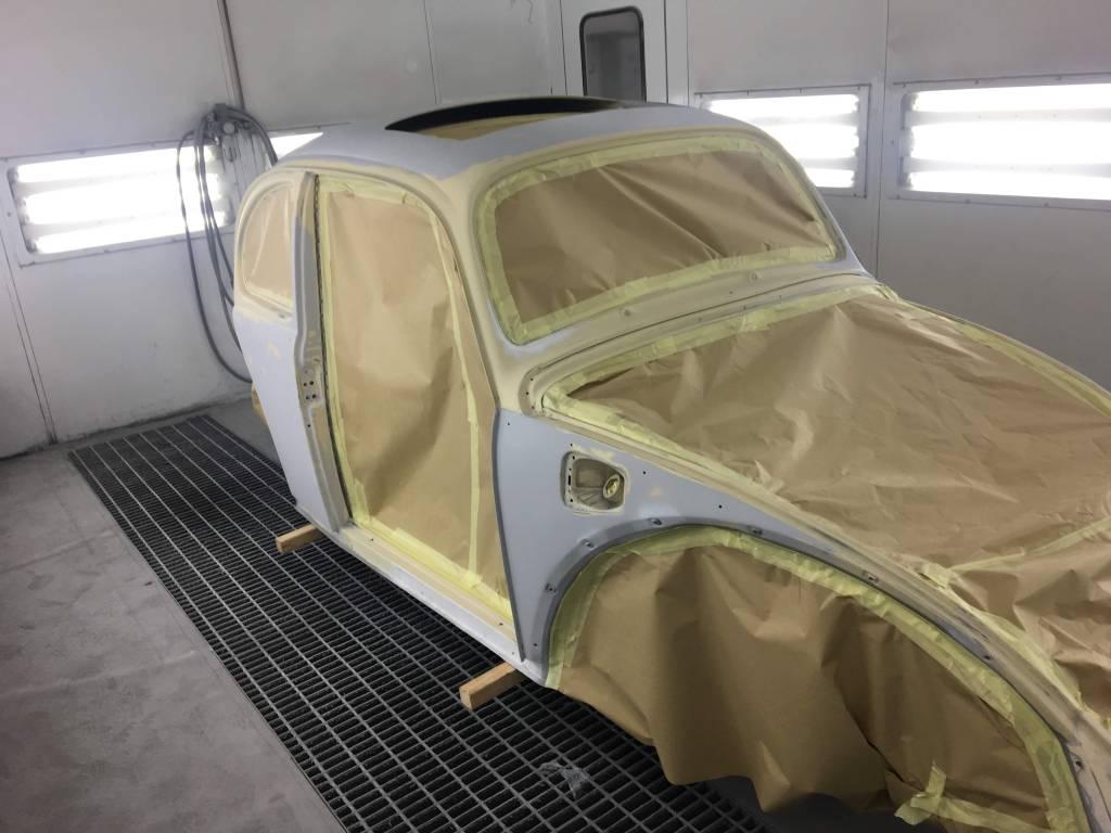 VW Kever overspuiten 01