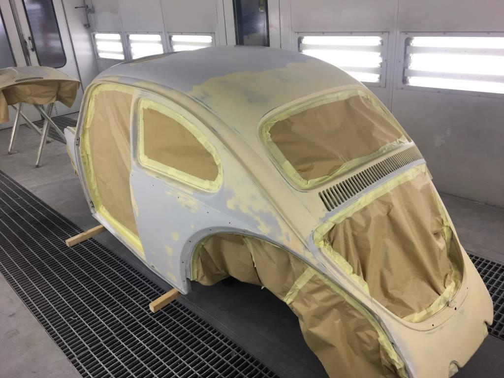 VW Kever overspuiten 02