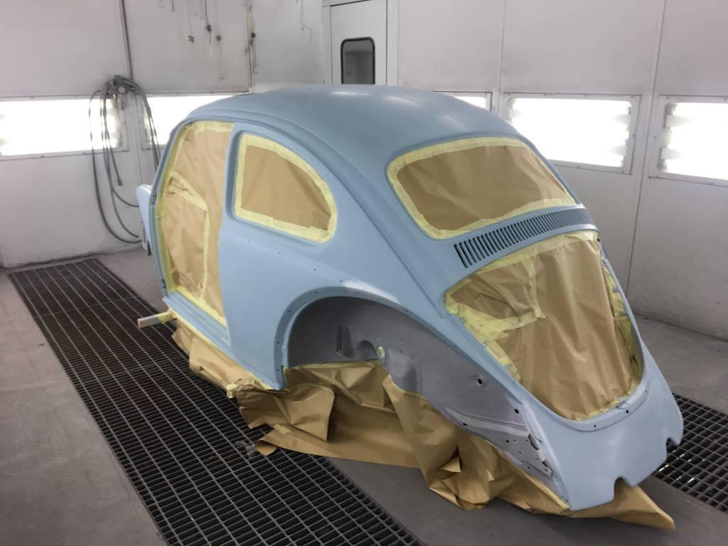 VW Kever overspuiten 04