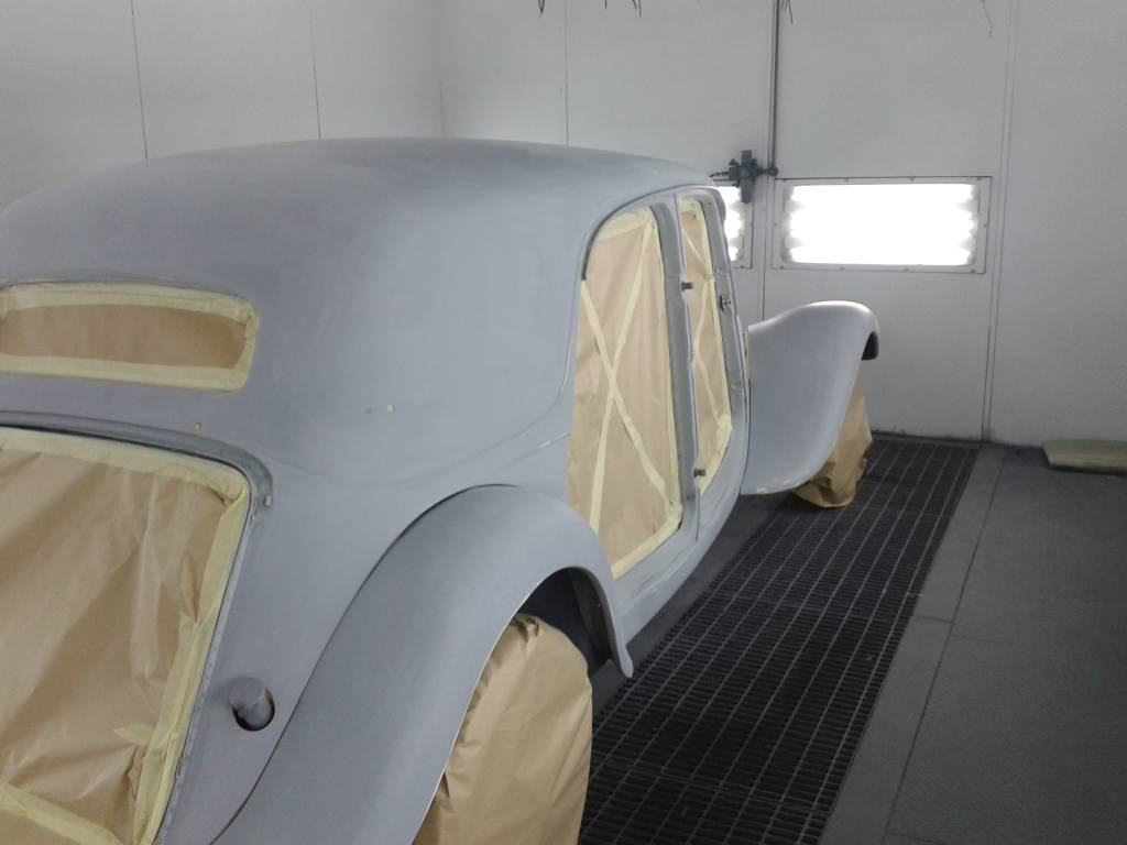 Restauratie Citroen Traction Avant 01